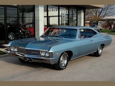 1967 Chevrolet Impala Ss427 Blue For Sale In United States
