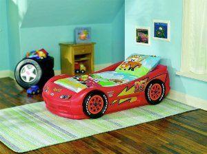 Amazon Com Little Tikes Lightning Mcqueen Roadster Toddler Bed