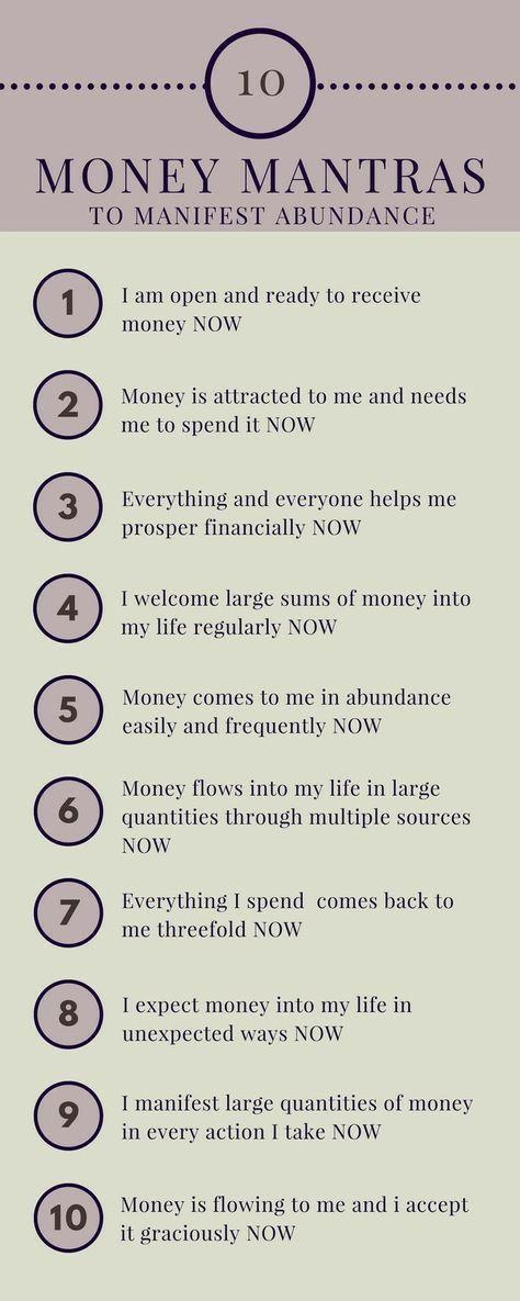 Affirmations to Manifest More Abundance - Abundantly Being