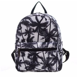 Breeze lust palm tree mini backpack