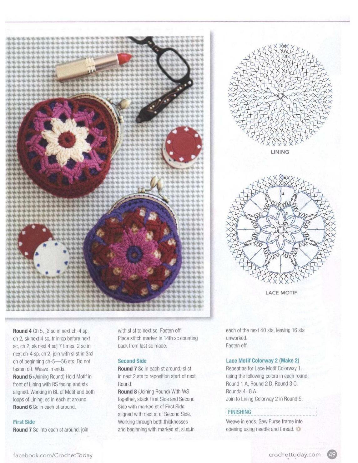 Crochet Today | Crochet: Bolsos, monederos y carteras | Pinterest ...