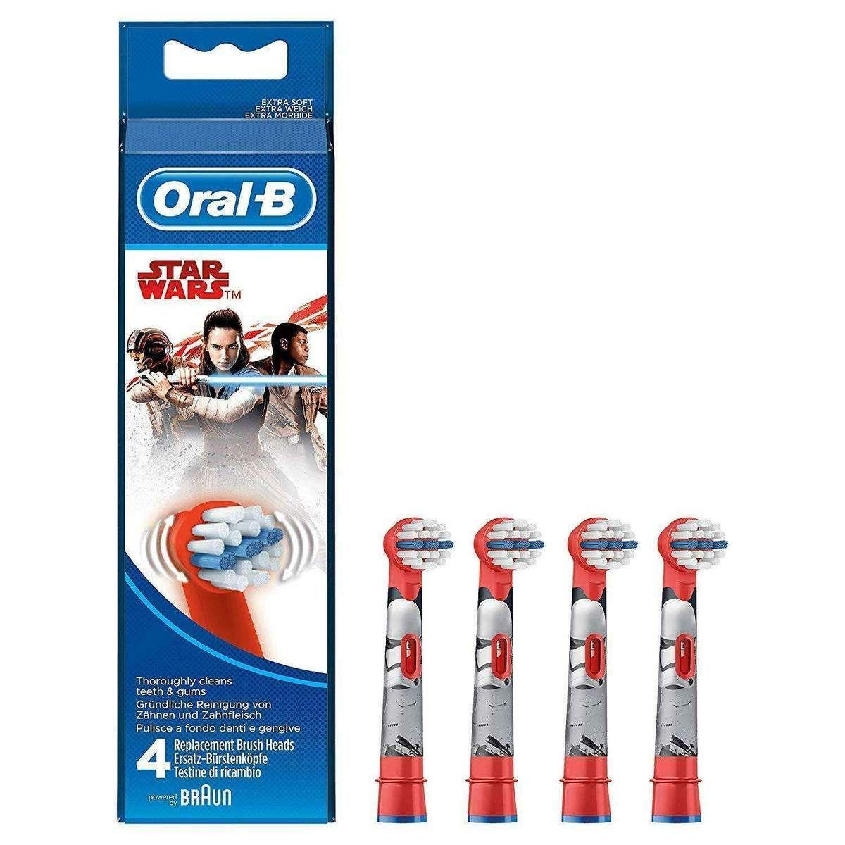 Neu eingetroffen OralB Kids Star Wars Aufsteckbürsten