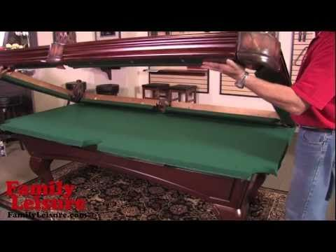 Bon HOW TO INSTALL A POOL TABLE   Slate Billiard Pool Table Installation Video    Http: