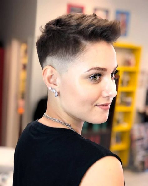 34++ Feminine female fade haircut ideas in 2021