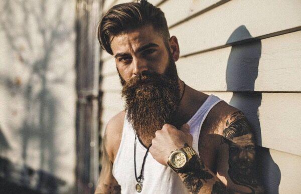 pingl par vanzan sur b pinterest beard tattoo hair and beard styles et beard styles. Black Bedroom Furniture Sets. Home Design Ideas