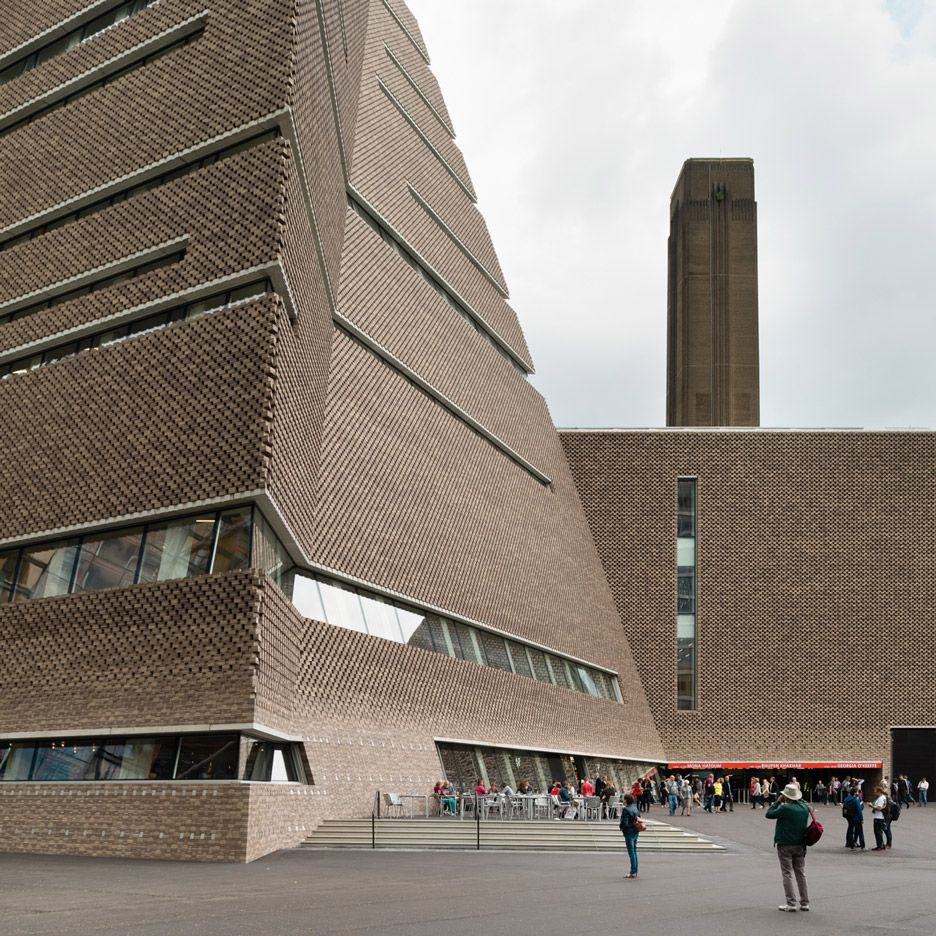 Tate Modern Switch House By Herzog De Meuron Opens To The Public Tate Modern London Switch House Tate Modern Extension