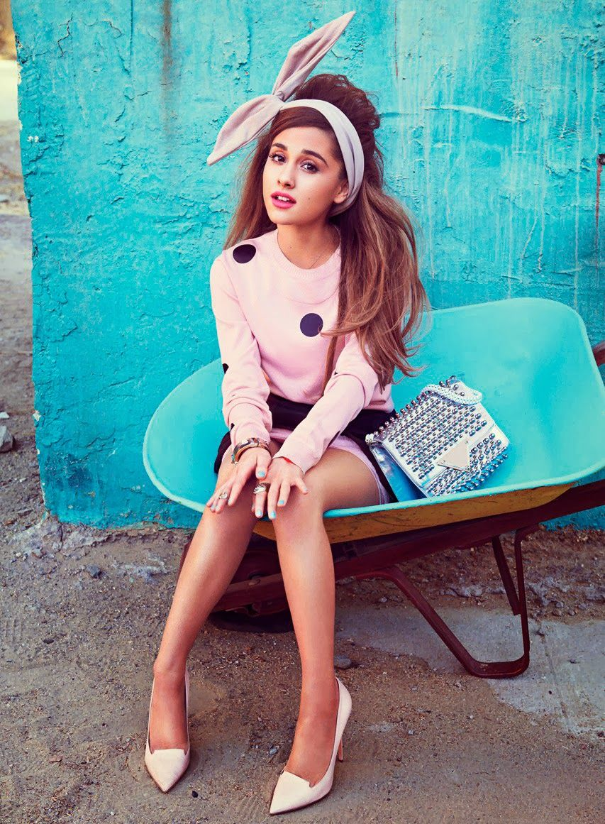 Teen Vogue | Ariana Grande | Teen Vogue Cover Girl (Feb 2014) | Teen ...