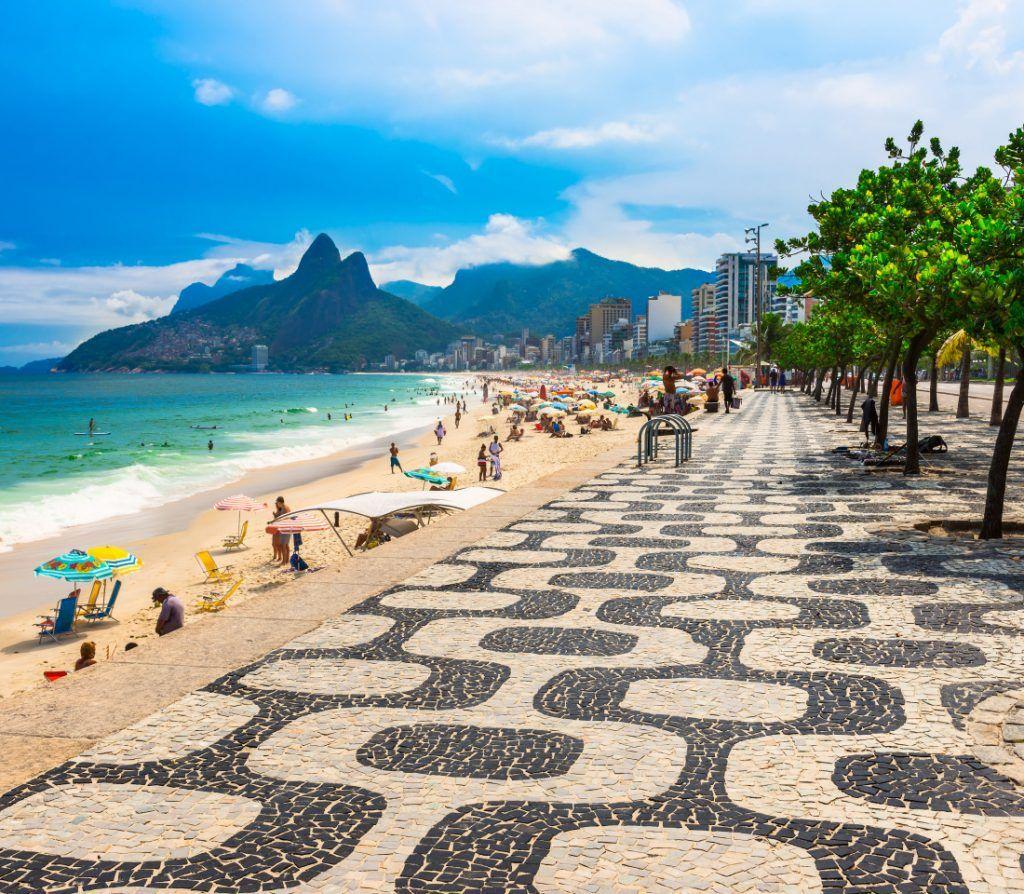 Praia de Copacabana - Rio de Janeiro | Brazil travel, Ipanema beach,  Copacabana beach