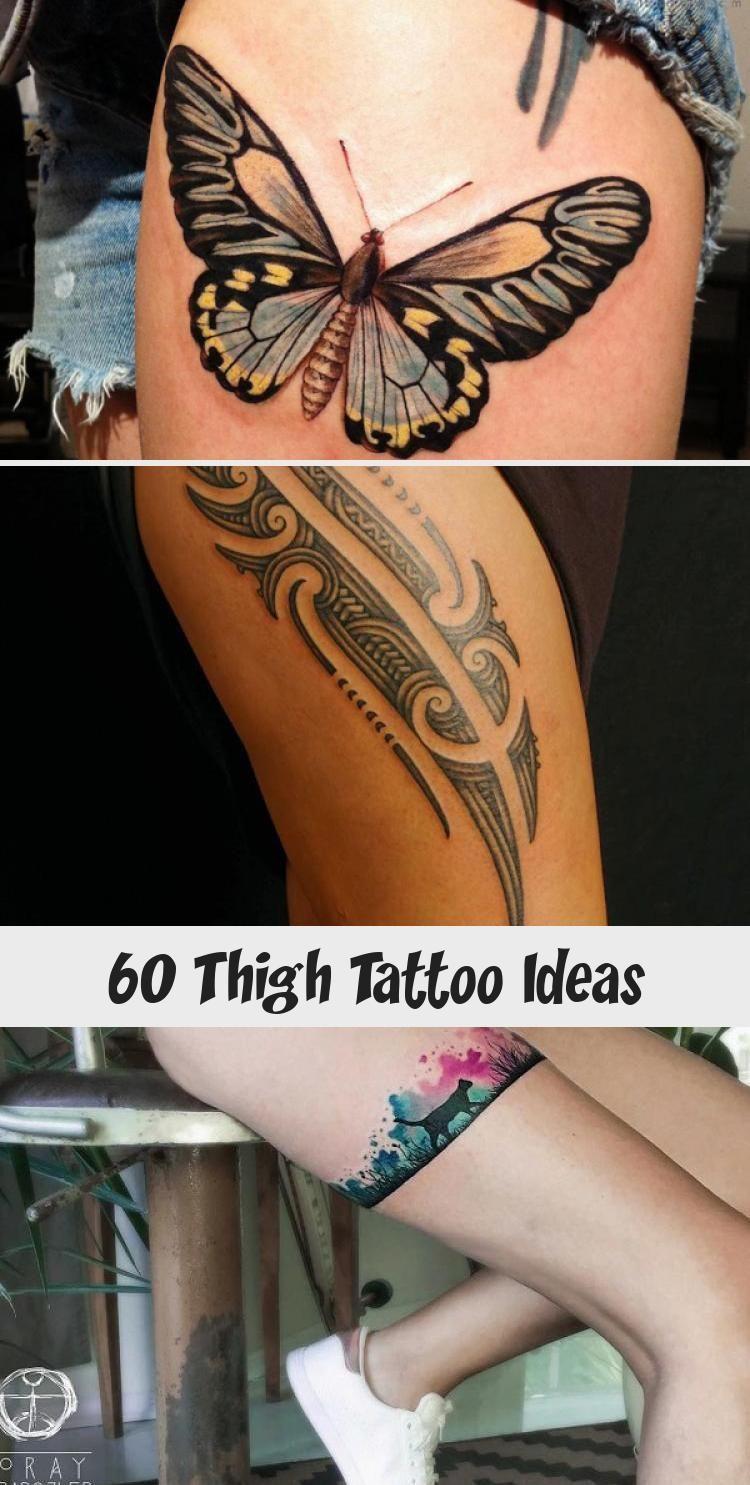Photo of 55 Thigh Tattoo Ideas #ornamentaltattooDrawing #ornamentaltattooEhr #orna …