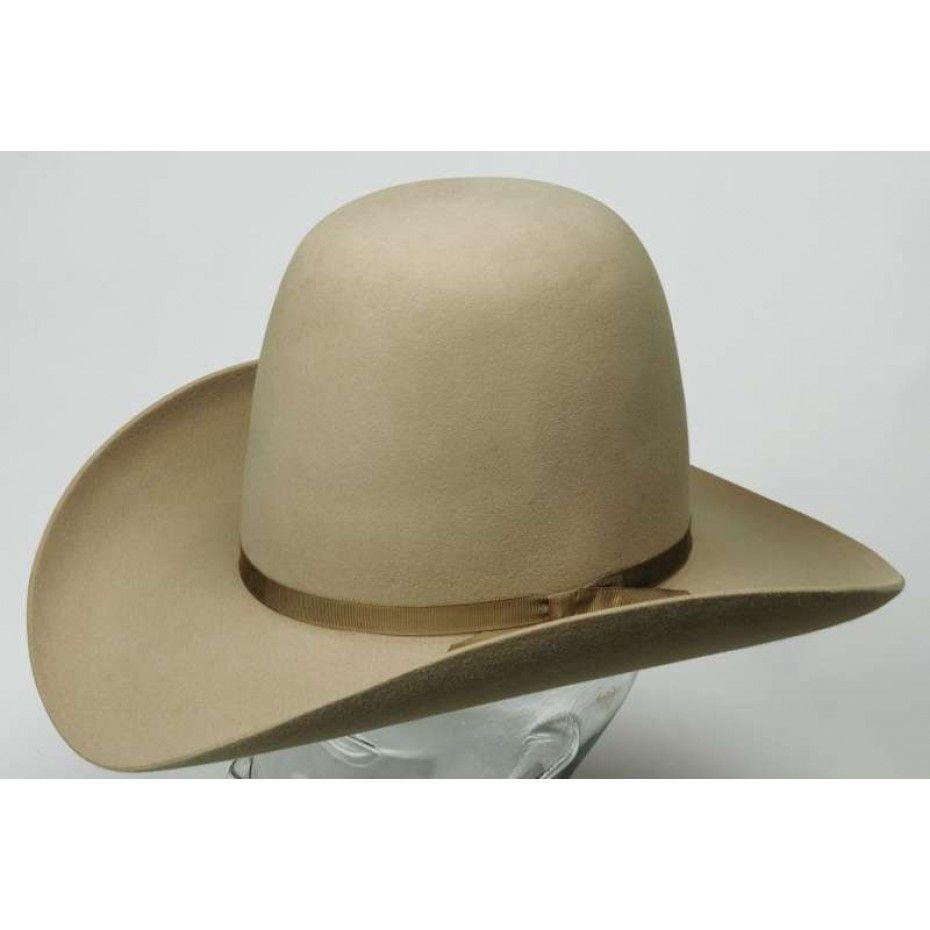c784da086c AKUBRA WOOMERA SAND  200.00 This classic western Akubra hat features a tall