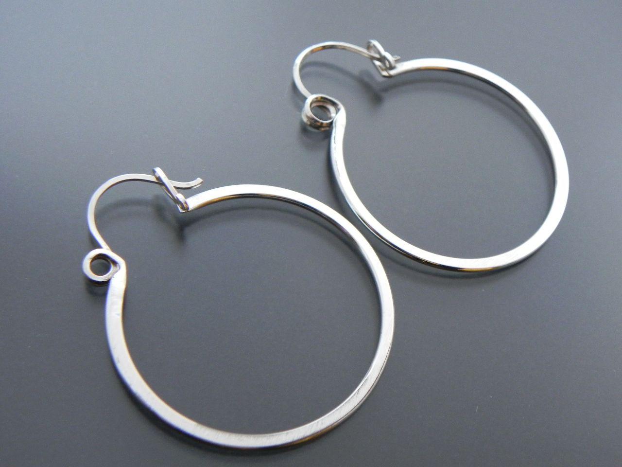 Gypsy Girl Hoop Spring Lever Back Ear Wire   Pinterest   Metal work ...