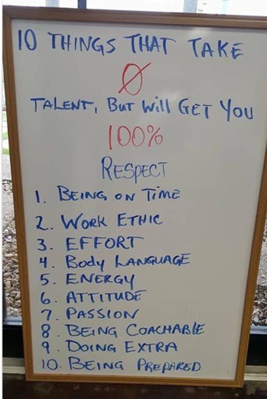 10 Things That Require Zero Talent Work Quotes Good Advice