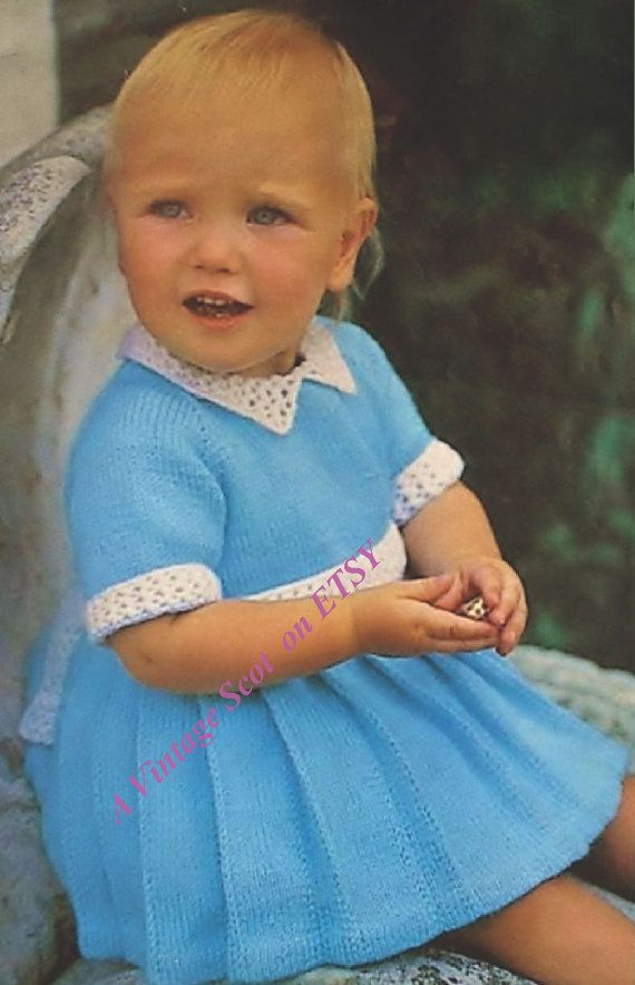 0225e8cfde63 Beautiful Baby Girl s 4 ply Pleated Short Sleeved Dress for Sizes 18 ...