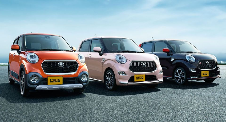 Toyota Goes Retro With Pixis Joy Kei Cars In Japan 50 Pics Carscoops Kei Car Toyota New Cars