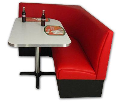 Americo L Diner Booth Sets Affordable Retro