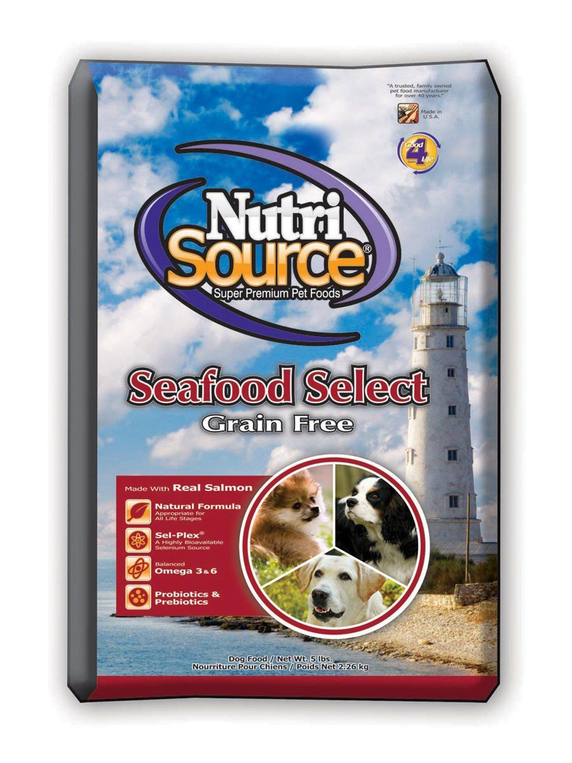 Nutri Source Grain Free Seafood Select Remarkable Product
