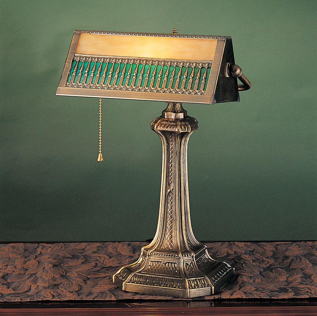 Gothic Banker S Lamp Bankers Lamp Antique Table Lamps