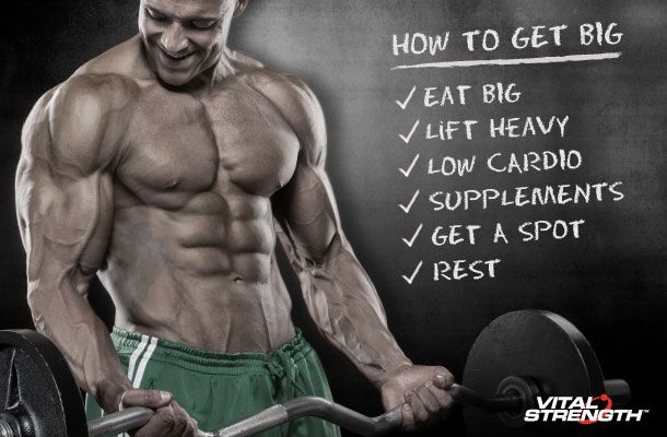 How To Get Big Muscle Mass In 6 Steps Meal Plan Workouts