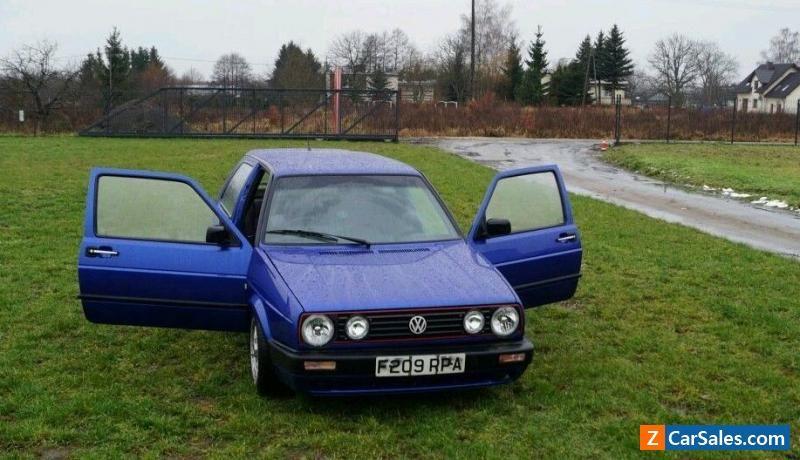 volkswagen golf gti 1989 1 8 petrol manual vwvolkswagen golf rh pinterest co uk