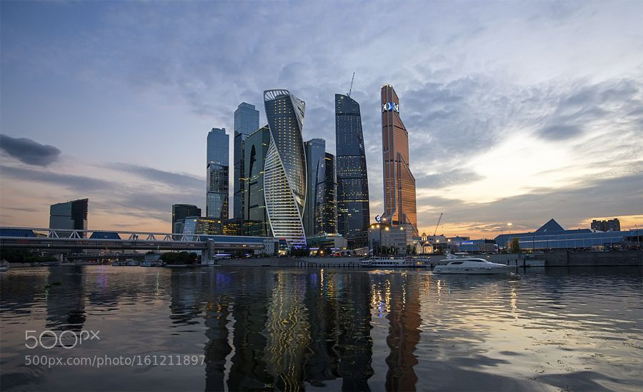 City of Moscow by Olvik2015 #architecture #building #architexture #city #buildings #skyscraper #urban #design #minimal #cities #town #street #art #arts #architecturelovers #abstract #photooftheday #amazing #picoftheday
