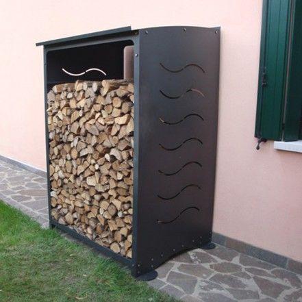 Front firewood rack Nova