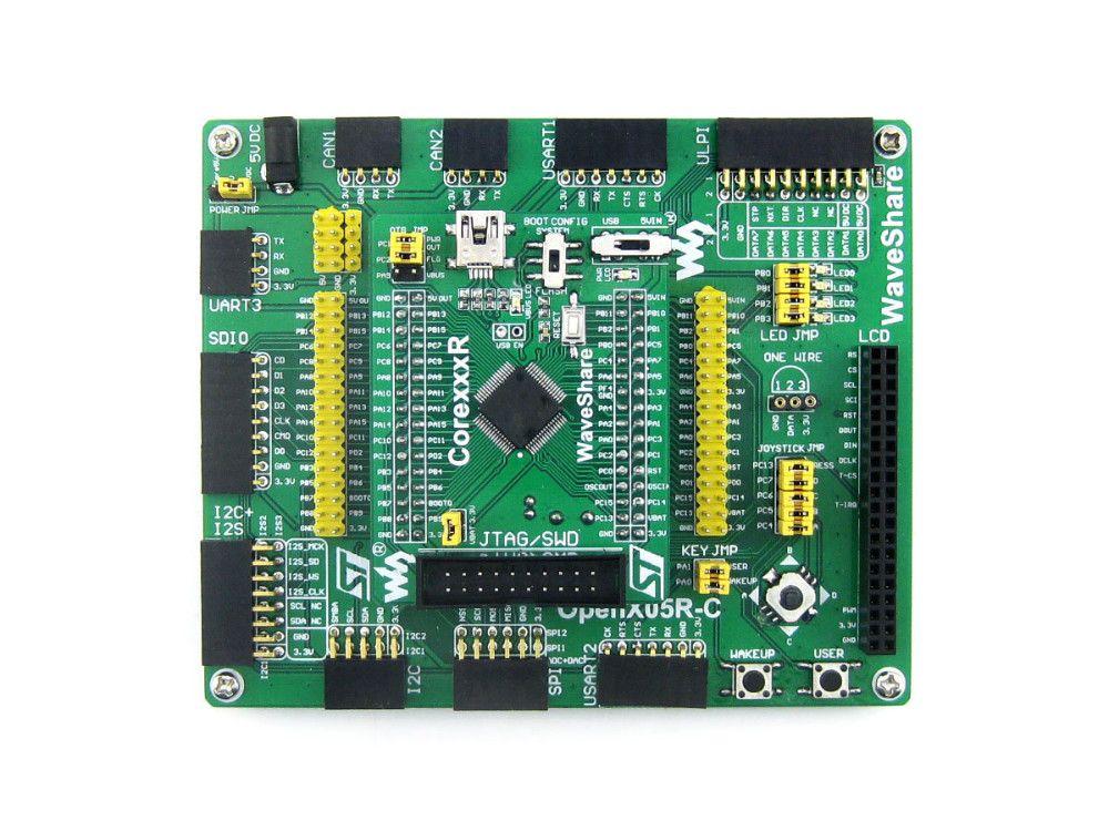 Waveshare STM32 Core Board STM32F103 STM32F103VET6 ARM Cortex-M3 STM32 Development Board Kit Full iOS