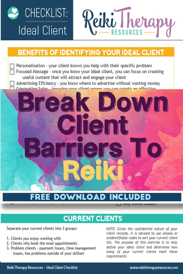 How to Break Down Client Barriers To Reiki | Reiki, Reiki ...