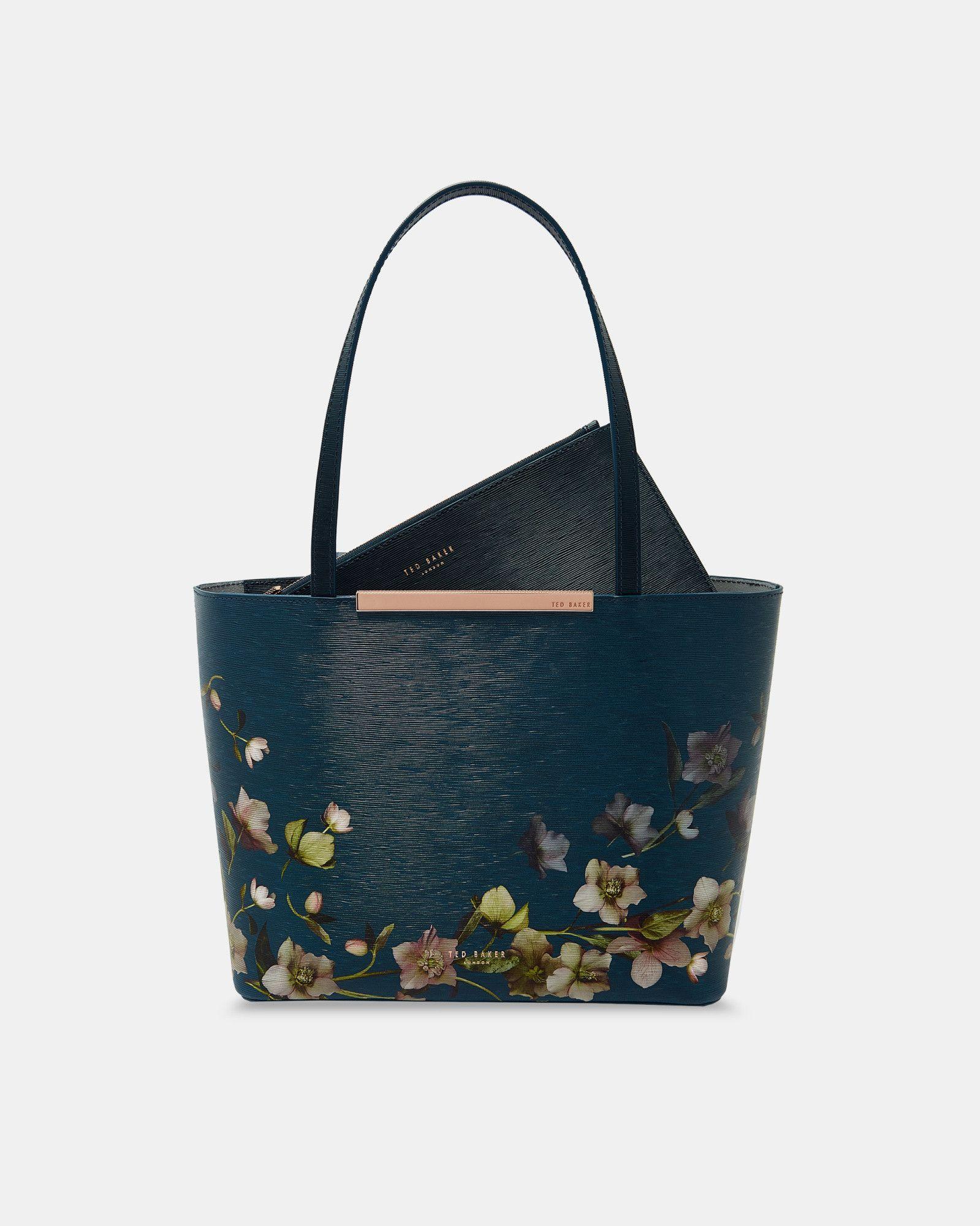 3c02e39577b73 Shantal arboretum mini leather shopper bag tedtotoe gleam glam jpg  1599x2000 Ted baker ikon bag