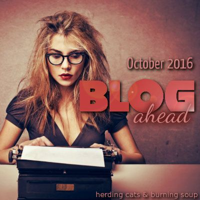 Blog Ahead Challenge 2016!