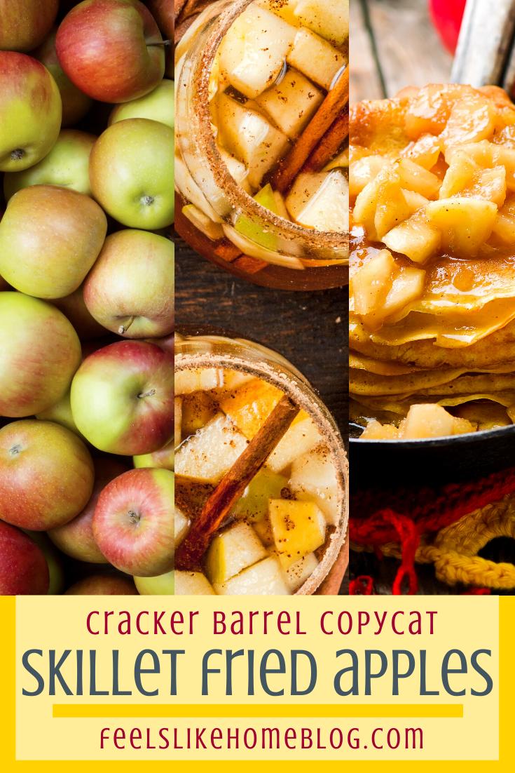 Cracker Barrel Copycat Skillet Fried Apples Recipe