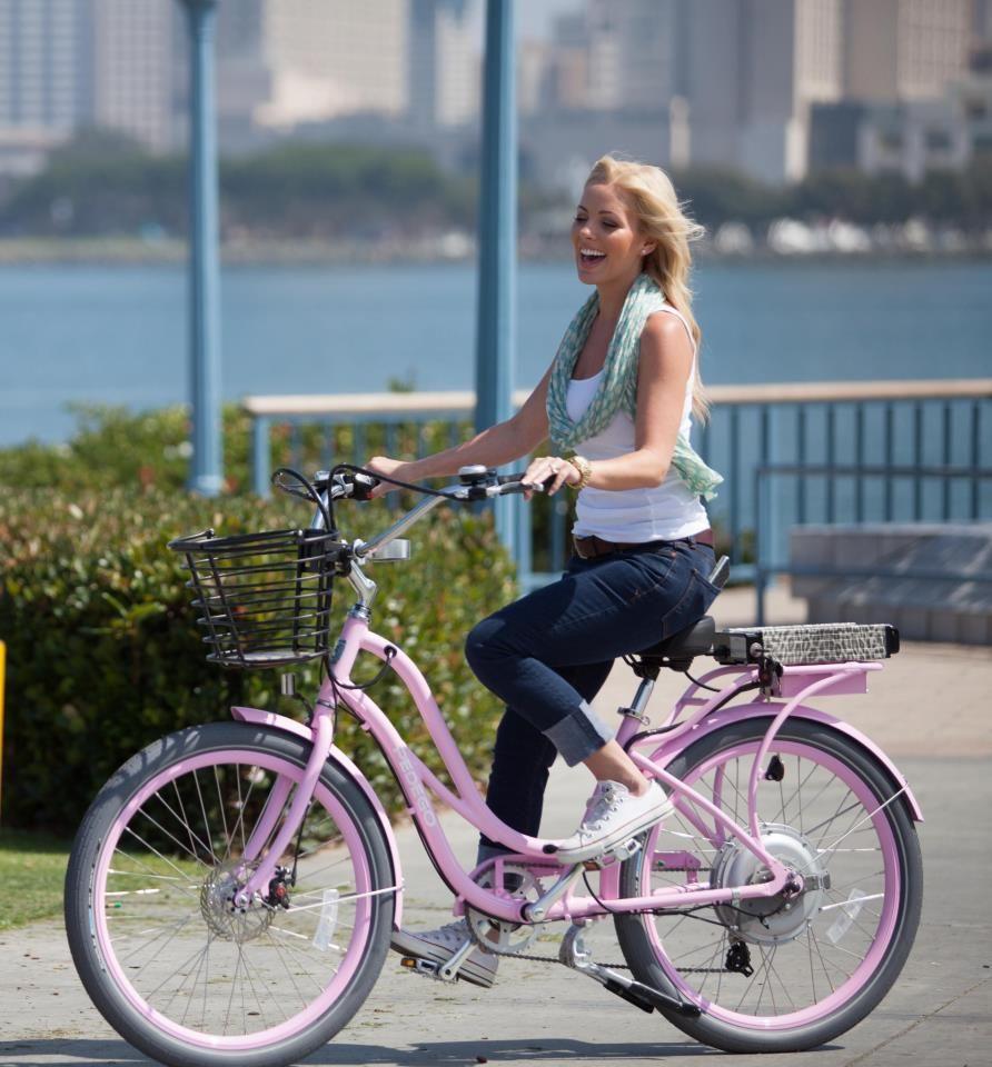 Electric Bikes Electric Bicycles Pedego Electric Bikes Biking Outfit Bicycle Girl Bike Ride