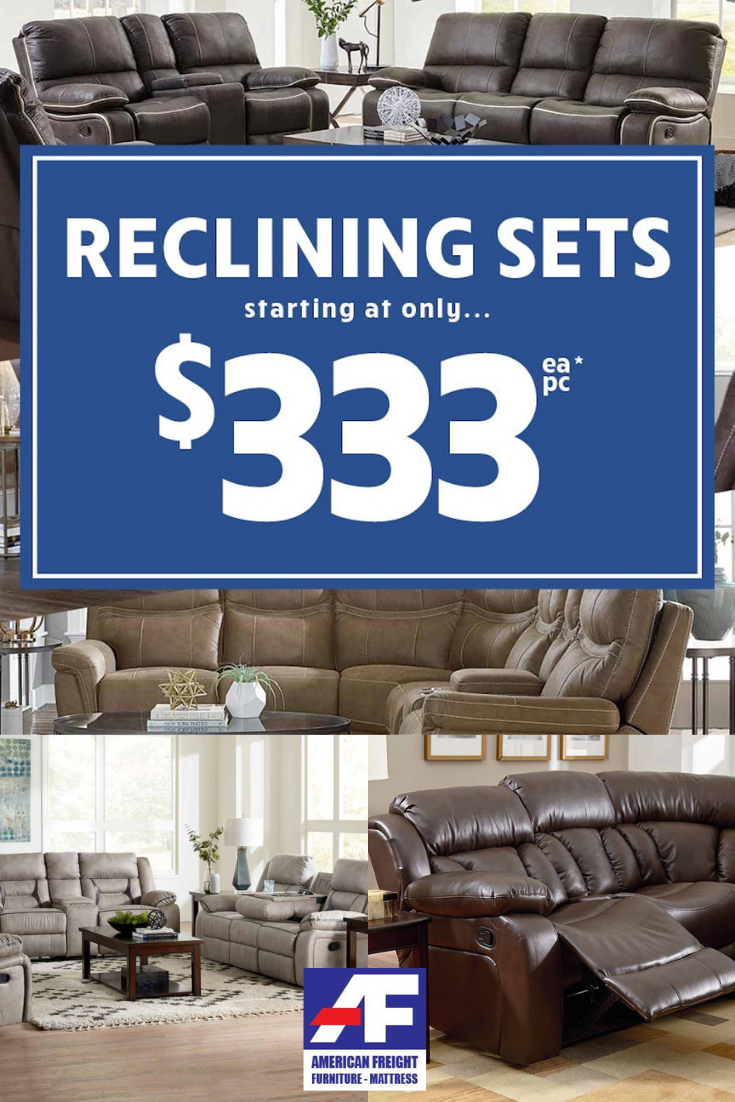Bring Versatile Comfort Style Home When You Purchase A New Reclining Sectional Sofa Or R Mattress Furniture Sectional Sofa With Recliner Reclining Furniture