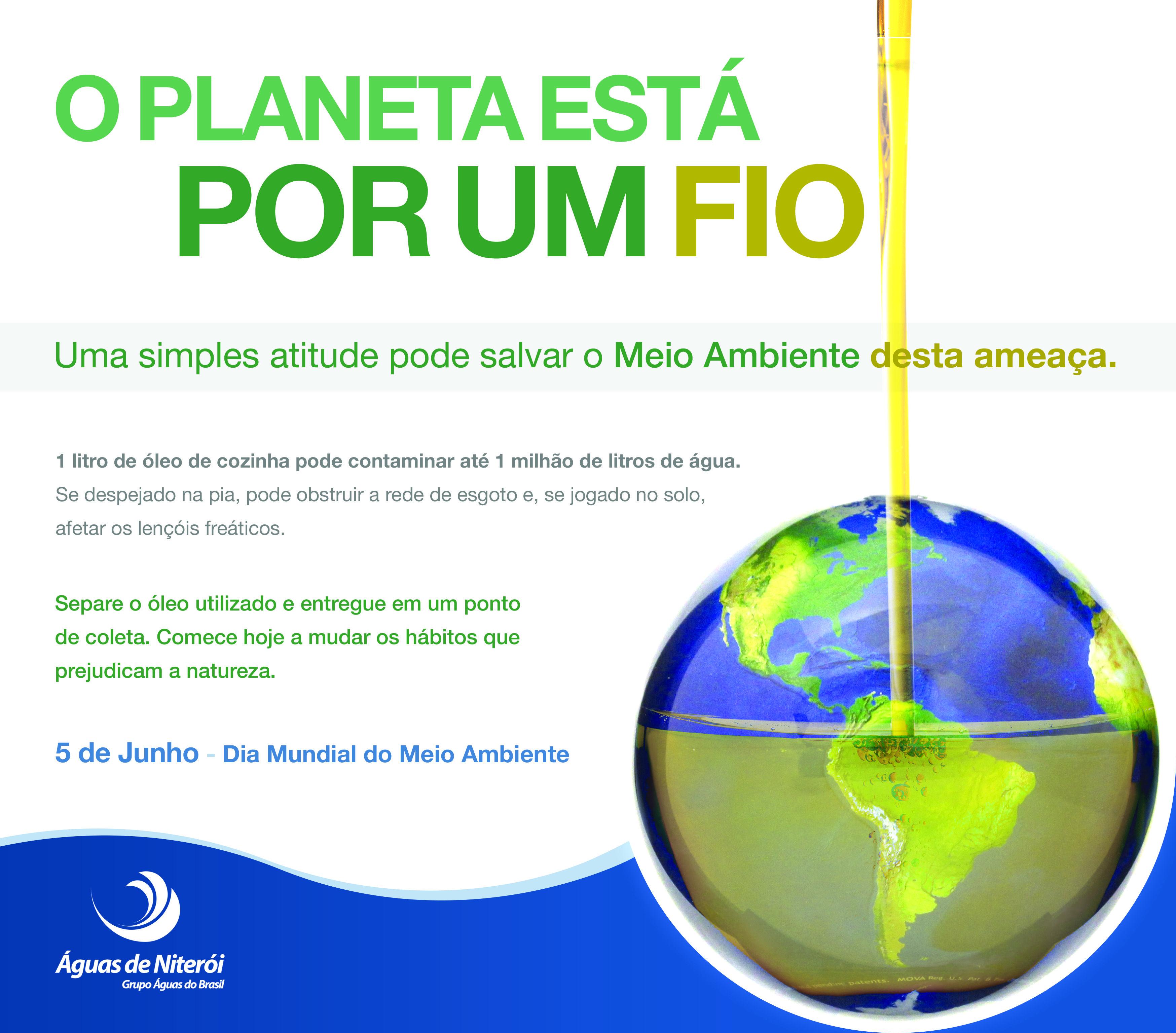 Anúncio pelo Dia Mundial do Meio Ambiente - 2013