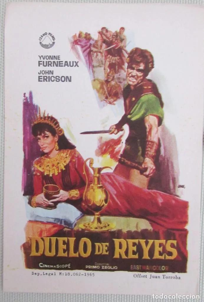 Pelicula porno duende verde Programa Folleto Mano Cine Duelo De Reyes Ivonne Furneaux John Ericson Carteles De Cine Cine Cine Musica Libros