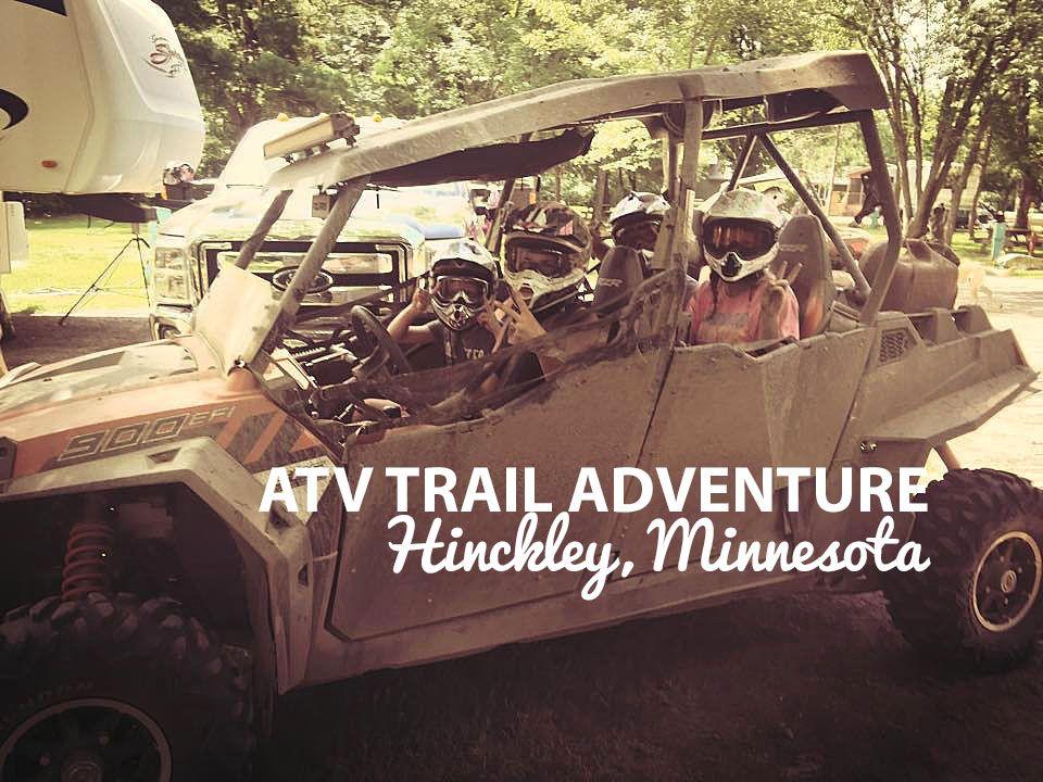 Great ATV trails near Hinckley! Go to
