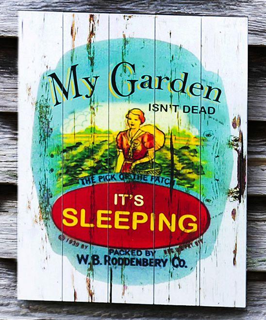 'My Garden' Outdoor Wall Art