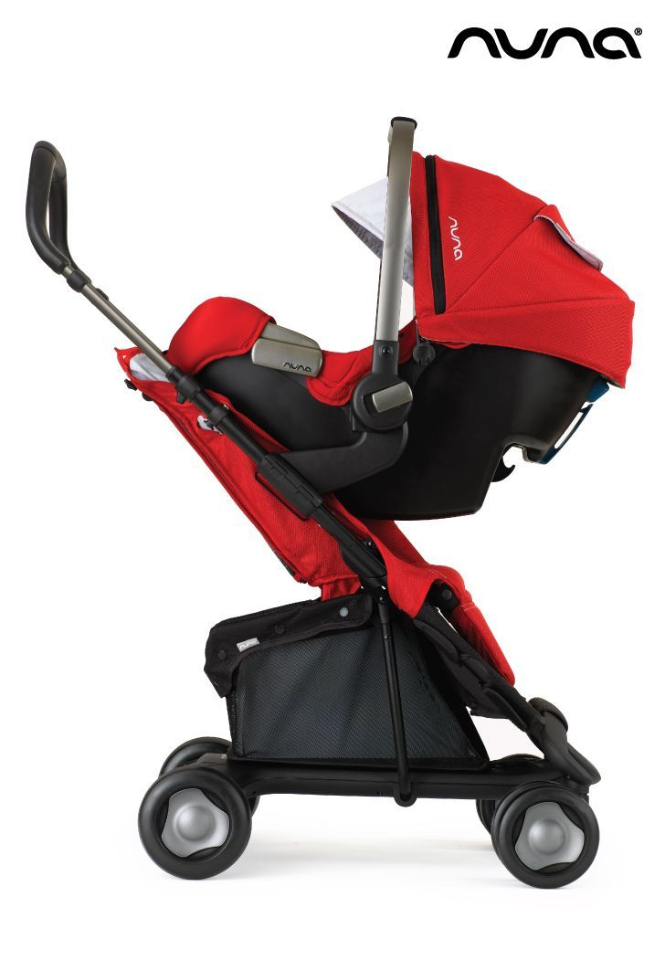 The Nuna Pipa works with the Nuna and Maxi Cosi car seat adapters ...