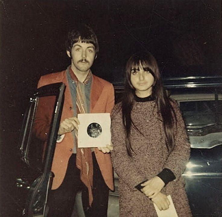 Paul McCartney And A Fan Circa 1967