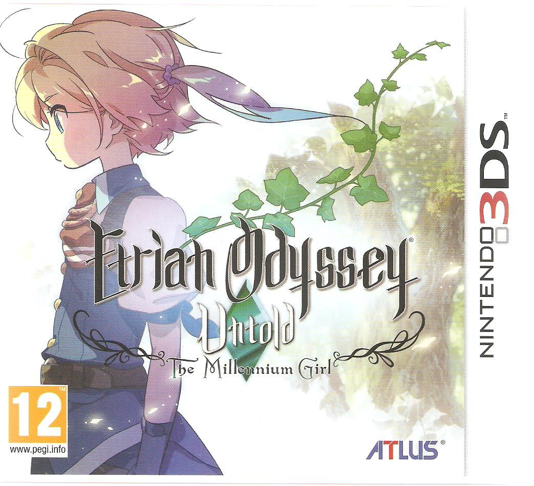 Etrian Odyssey Untold. The Millennium Girl. (With images