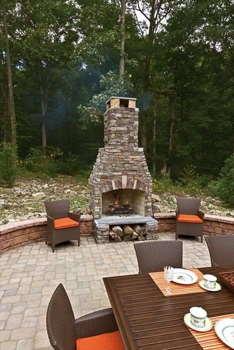 Admirable This Fireplace Looks Like Natural Stone But It Is Actually Download Free Architecture Designs Lectubocepmadebymaigaardcom