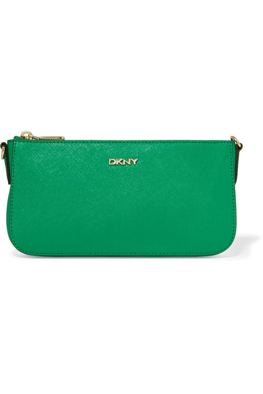 DKNY Textured-Leather Shoulder Bag. #dkny #bags #shoulder bags #hand bags #leather #glitter #