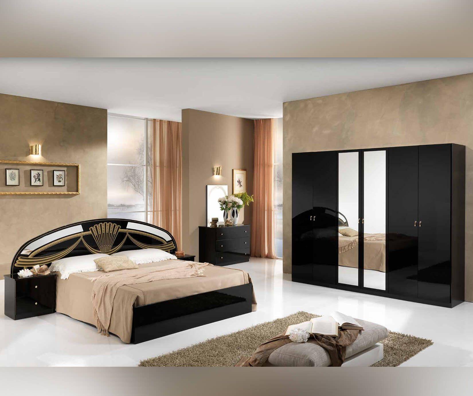 Italienische Stil Möbel Italienischen Bett Designs In Holz ...