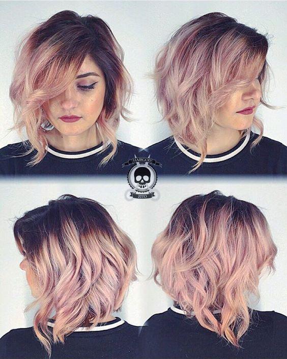Short Hair Color Ideas 4 Hair Styles Short Hair Color Hair Color Pastel
