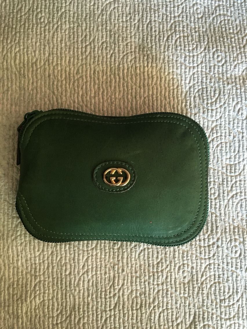 dcbc65db06d1 Gucci leather compact Horsebit tote case. Find this Pin and more on Rare  Vintage ...