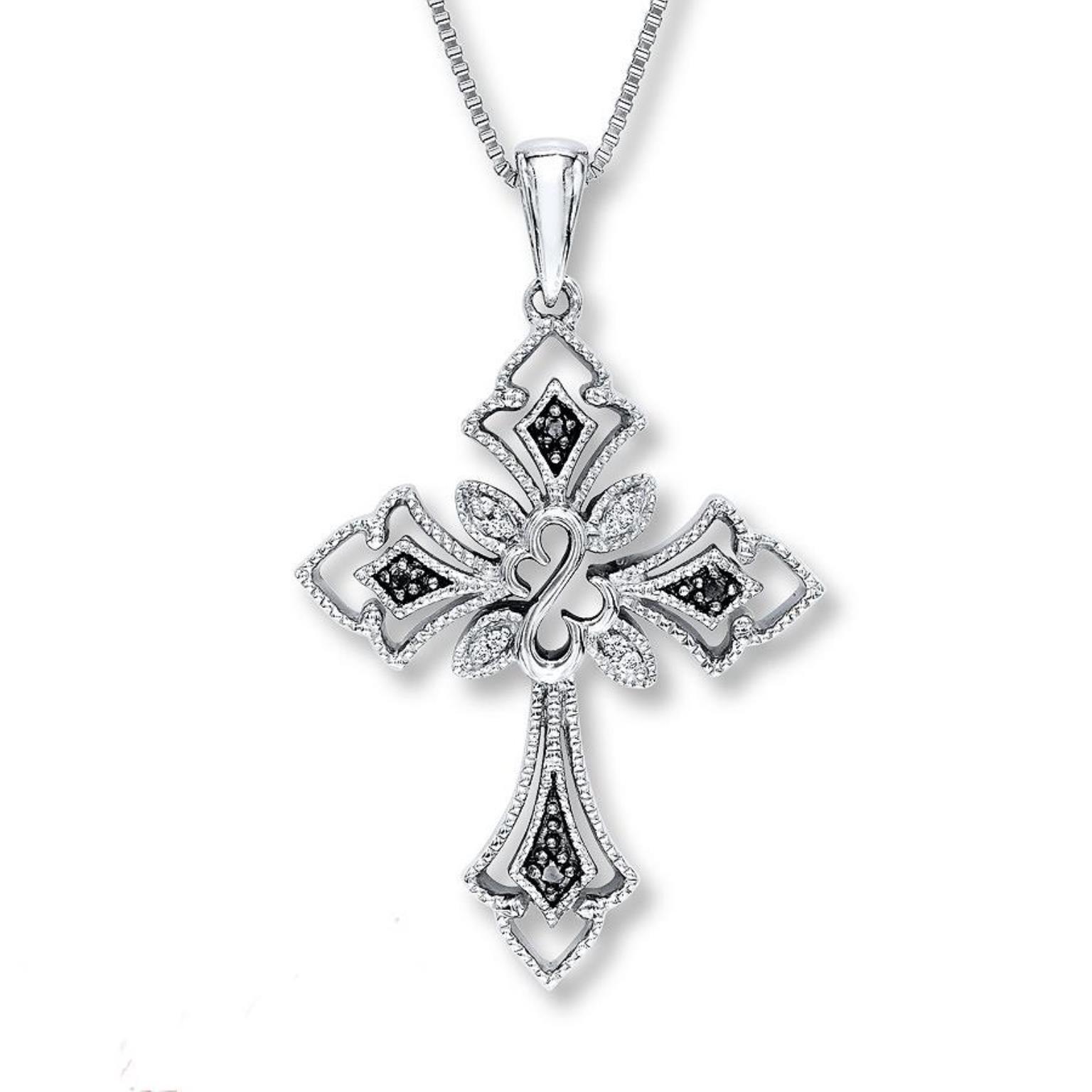 beautiful jane seymour open hearts diamonds necklace. Black Bedroom Furniture Sets. Home Design Ideas