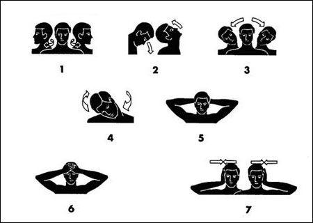 Esercizi Cervicale Cervicale 7 Esercizi Di Stretching Per Combatterla Wellness Pinterest