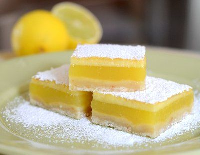 Sweet Tart Lime Bars-----There is a cup of lime juice in these ...