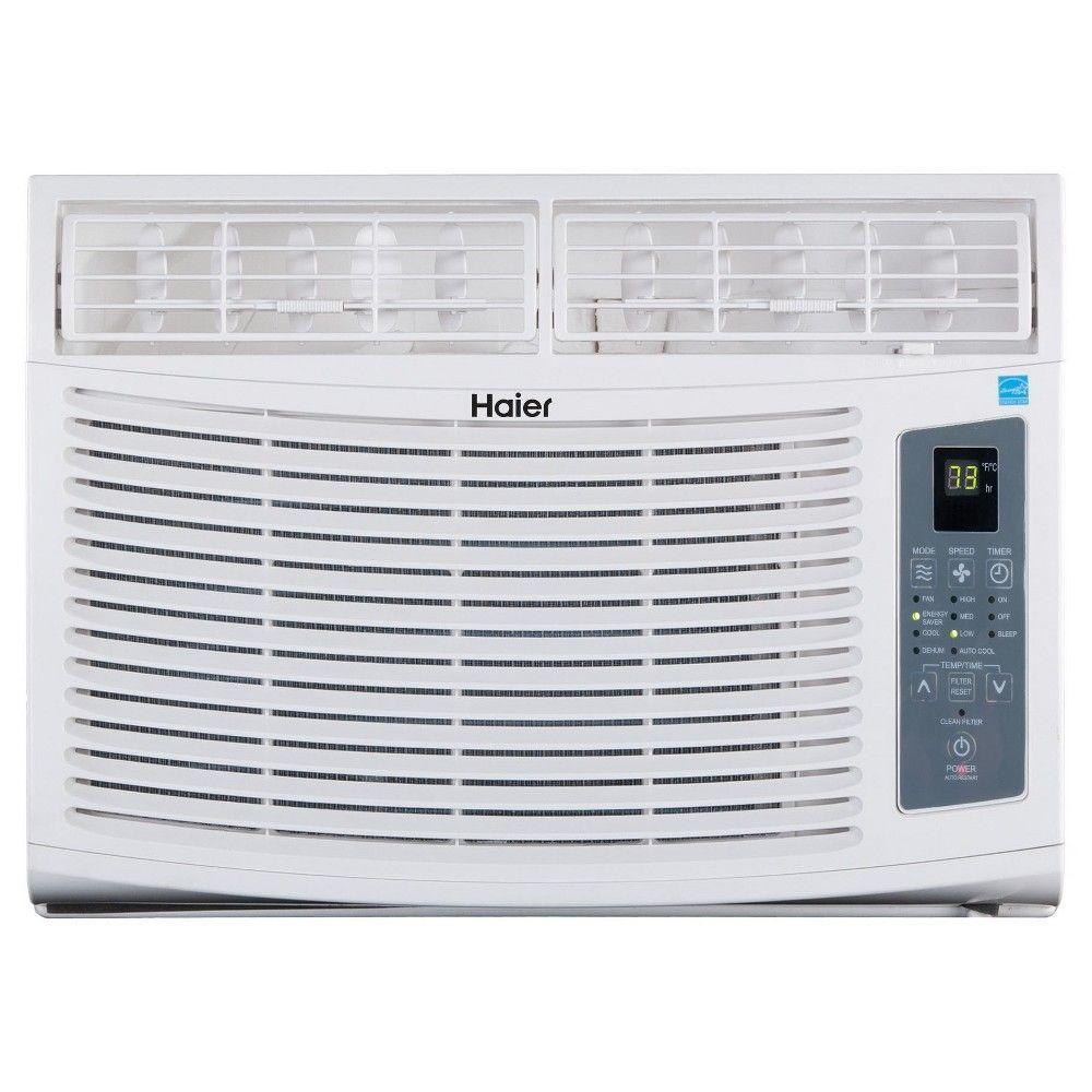 The Haier Esa412r Energy Star Qualified 12000 Btu 12 0 Ceer Electronic Control Air Co Air Conditioner Btu Room Air Conditioner Window Air Conditioner
