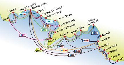 costa amalfitana mapa Mapa de Costa Amalfitana | Italy Travel | Pinterest | Italia and Italy costa amalfitana mapa