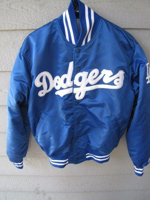 9ca17ab2d Los Angeles Dodgers LA Dodgers Nylon Vintage Jacket Starter Diamond  Collection